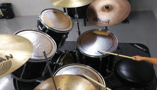 【公共施設利用】音楽スタジオを300円で借りて4歳ドラム体験【幼児音楽教育】