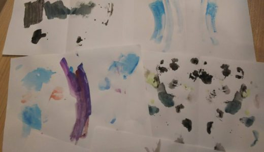 【4歳】絵を描くことが苦手な幼児が触発された絵本と絵具