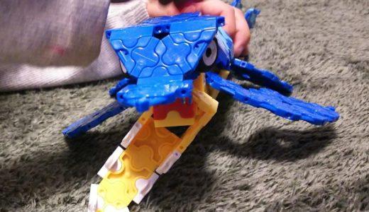 【レゴとLaQの違いを感じた】ラキュー(LaQ)ダイナソーワールドディノキングダムを幼児と一緒に作ってみた